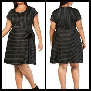 Love Squared Striped Dress Size 2X NWT